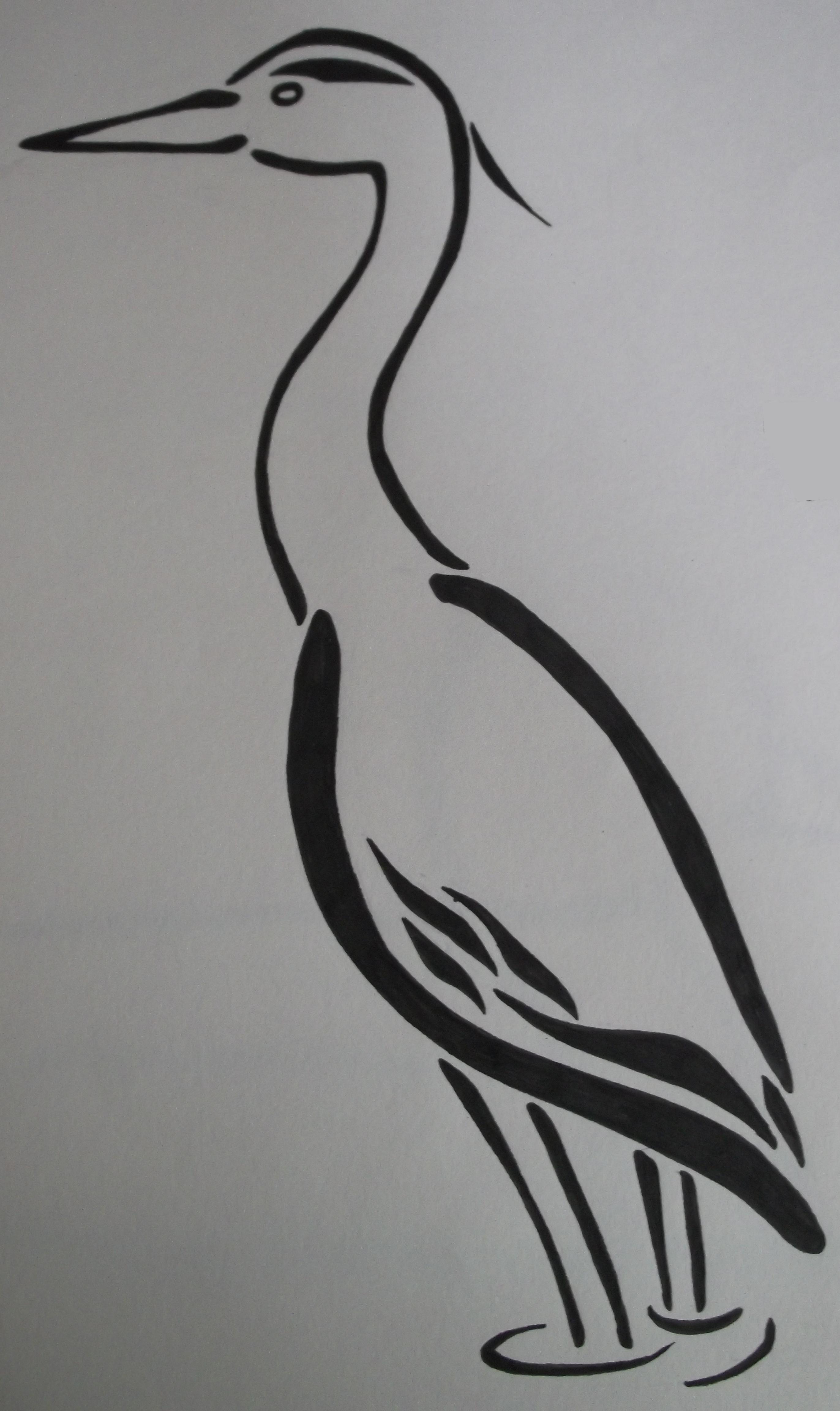Grey Heron© Beth Aucott