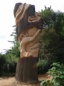 Wolseley Centre - Chainsaw Sculpture