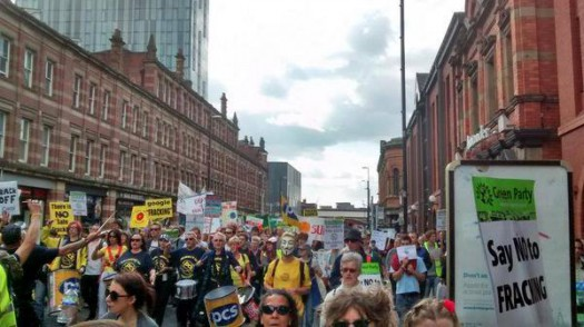 The Peoples Climate March: Manchester